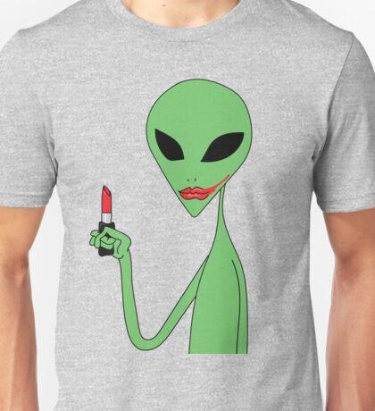 lipstick alien Unisex T-Shirt