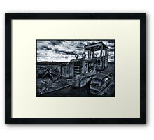 Killdozer Jnr. Framed Print