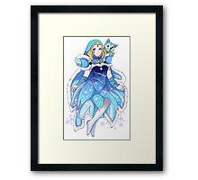 Dota 2 - Crystal Maiden Arcana Framed Print