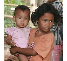 Khmer Girls Photographic Print