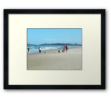 Doggie Day Out Framed Print
