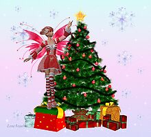 December fairy by LoneAngel
