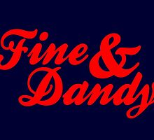 Fine & Dandy Extras: Navy & Red by M  Bianchi