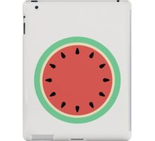 Watermelon Clock - Summer Fruit iPad Case/Skin