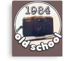 Old School Lomo 1984 Canvas Print