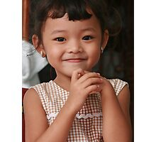 Khmer Girl Photographic Print