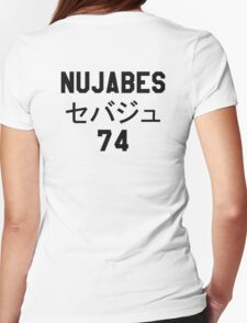 NUJABES 74 RIP Womens Fitted T-Shirt