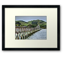 The bridge that joins North & South...........! Framed Print
