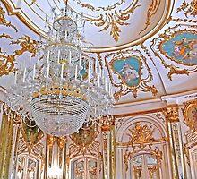 Chandelier. Queluz Palace by terezadelpilar~ art & architecture