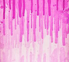 Pink Grunge Color Splatter Graffiti Backstreet Wall Background  by badbugs