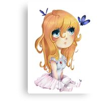 Sweet anime chibi Canvas Print