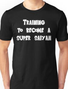 Training to become a Super Saiyan Unisex T-Shirt