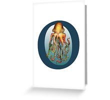 O is for Octopus Greeting Card