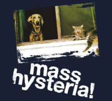 Dogs and cats living together. Mass hysteria! by Brian Edwards