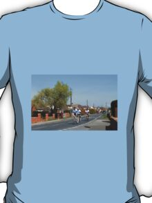 Cyclists in a Country Lane T-Shirt