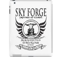 SkyForge - Where Legends Are Born In Steel iPad Case/Skin