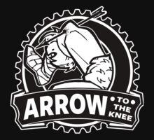 Arrow To The Knee Kids Tee