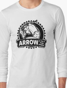 Arrow To The Knee Long Sleeve T-Shirt