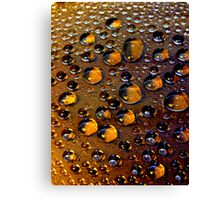Drops  #10 Canvas Print