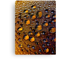 Drops  #10 Canvas Print