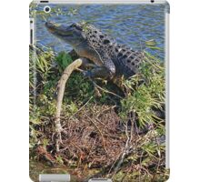 The Smiling Gator iPad Case/Skin