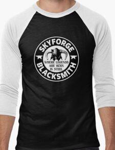 Skyforge - Where Legends Are Born In Steel Men's Baseball ¾ T-Shirt