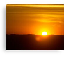 Sunset at The Oasis - Part 1 (16x20) Canvas Print