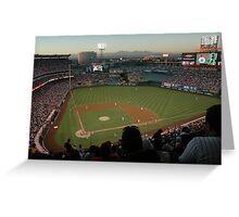 Angels Stadium Greeting Card