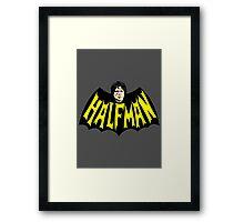HalfMan Framed Print
