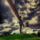 Angel of the North by Nigel Bangert
