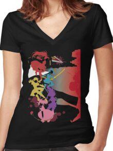 Walpurgisnacht Women's Fitted V-Neck T-Shirt