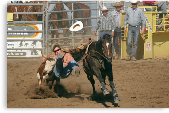 Tasting that Rodeo Dust by Christine Till  @    CT-Graphics