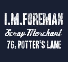 I M Foreman Kids Clothes