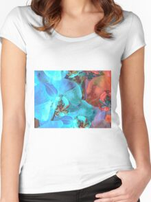 Complementary Blooms Women's Fitted Scoop T-Shirt