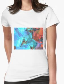 Complementary Blooms Womens Fitted T-Shirt