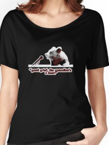 Good grief, the comedian's a bear! Women's Relaxed Fit T-Shirt