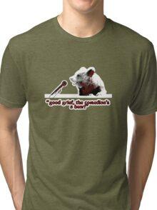 Good grief, the comedian's a bear! Tri-blend T-Shirt