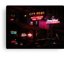 neon mania Canvas Print