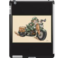 HARLEY STYLE WLA SOLDIER iPad Case/Skin