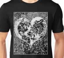 """""""Love Yourself"""" Heart shaped world, Ink 1990 Unisex T-Shirt"""