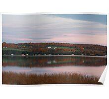 Lake Carmi Early Evening Poster