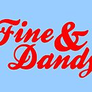Fine & Dandy Extras: Blue & Red by M  Bianchi