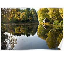 Autumn at Loch Dunsmore Poster