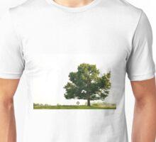 Tire Swing on Lone Tree Unisex T-Shirt