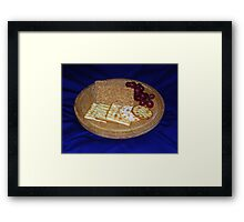 Cheese Partners Framed Print