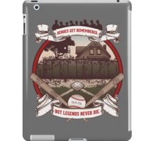 Legends Never Die iPad Case/Skin
