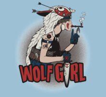 Wolf Girl One Piece - Short Sleeve