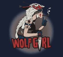 Wolf Girl One Piece - Short Sleeve