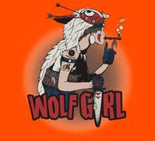 Wolf Girl Kids Tee