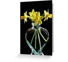 Jonquil Spring Greeting Card